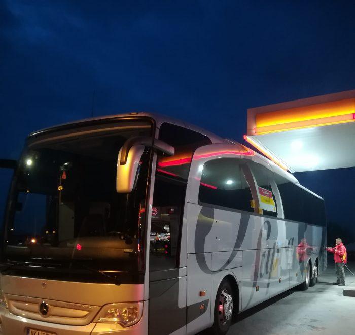Alexandroupolis coach hire services