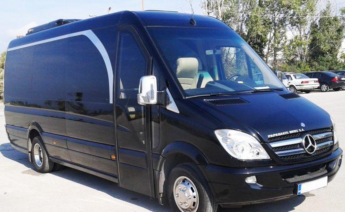 Minibus charters